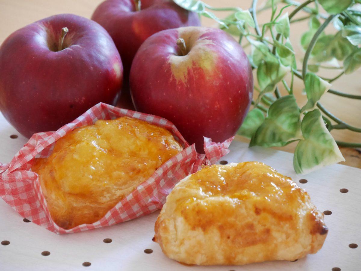 完熟紅玉と焼き立てアップルパイ